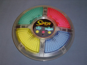 Image of a Simon Toy